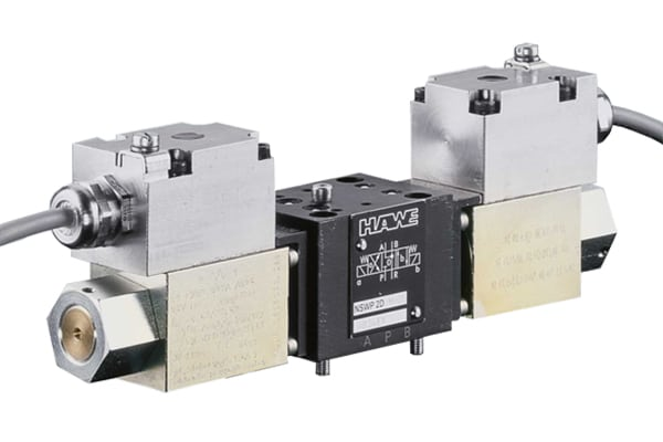 HAWE Type NSWP - On Off Directional Spool Valve